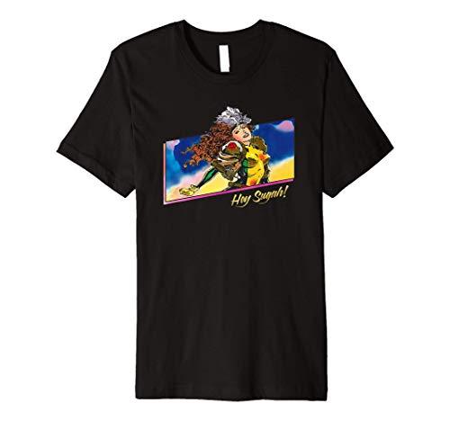 Marvel X-Men Rogue Hey Sugah! 90s Premium T-Shirt