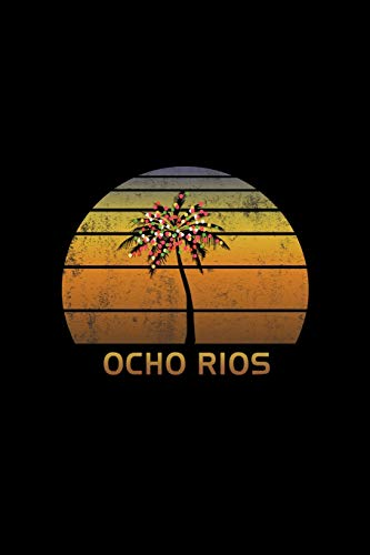 Ocho Rios: Christmas Journal Notebook With Retro Jamaican Sunset. Complete Shopping Organizer Holiday Food Meal Party Planner Budget Expense Tracker With Soft Cover 6 x 9, 120 Pages.