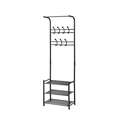 Idebris Multifunctioneel metaal eenvoudig thuis schoenenkast plank opslag garderobe organisator staander houder ruimtebesparend te installeren