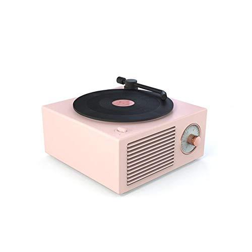 Speaker, Speaker Wireless Multifunctionele Subwoofer Thuis USB Opladen Platenspeler Bluetooth Speaker Mini Nostalgische Draagbare Muziekspelers Retro Audio