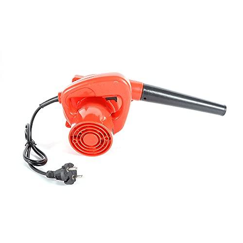 Soplador eléctrico de mano de 220 V, 13000 rpm, con tubo de soplado y bolsa para el polvo, soplador de hojas, soplador de hojas con bolsa para palomas (700 W)