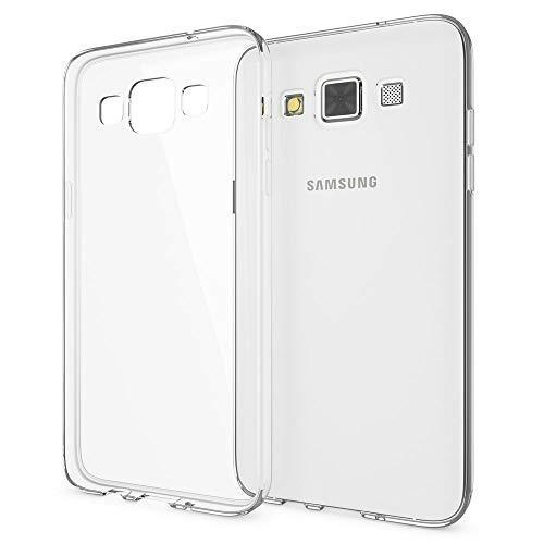 NALIA Cover compatibile con Samsung Galaxy A3 2015, Custodia Protezione Silicone Trasparente Sottile Case, Copertura Gomma Lucida Chiaro Morbido Cellulare Ultra-Slim Protettiva Bumper Telefono Guscio