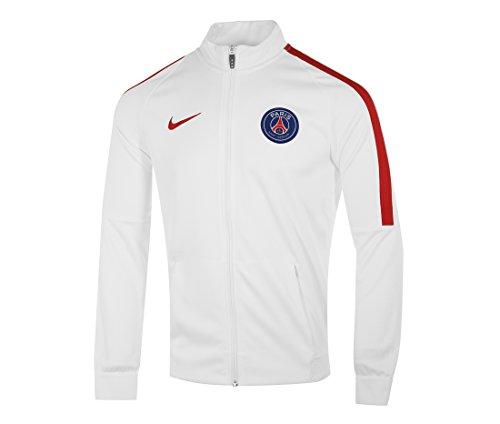 Nike PSG M NK Dry STRKE TRK JKT K - Jacke Paris Saint Germain Weiß - XL - Herren