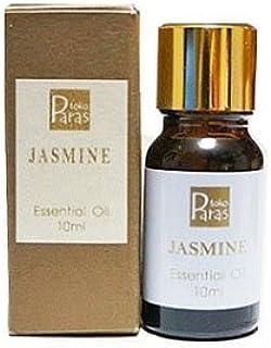 ジャスミン JASMINE 10ml【トコパラス TOKO PARAS】エッセンシャルオイル 精油 天然アロマオイル