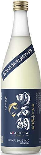 Akashi Sake Brewery Junmai Daiginjo Genshu 16%vol NV (1 x 0.72 l)