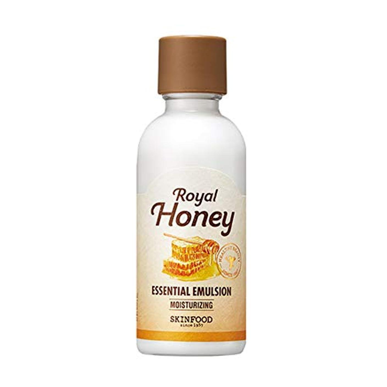 癌夜の動物園感度Skinfood ロイヤルハニーエッセンシャルエマルジョン/Royal Honey Essential Emulsion 160ml [並行輸入品]