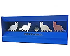 fritz-cell blau Entenkasten Kugelfangkasten Pendelkasten