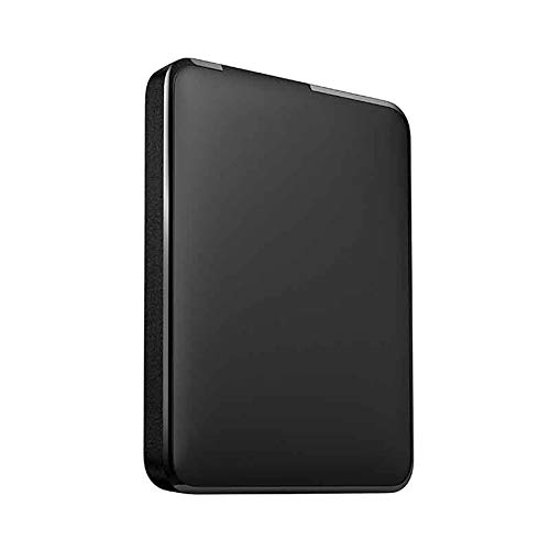 HDD Pro 4tb External Solid-state Drive, Drop-proof, Dust-proof and Waterproof, Suitable for Pc Desktops, Laptops, Tablets, Smart Tvs, and Other Devices (Capacity : 500GB, Color : Black)