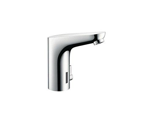 Hans Grohe RT631 Berührungsfreier Wasserhahn, Sensor, Berührungslos, Waschtisch-Armatur, barrierefrei für Senioren, Behinderte