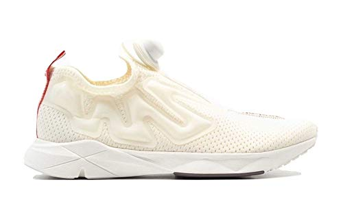 Reebok Pump Supreme Jaqtape, Zapatillas de Deporte Unisex Adulto, Multicolor (Chalk/Carotene/Almost Grey/Coal 000), 44 EU