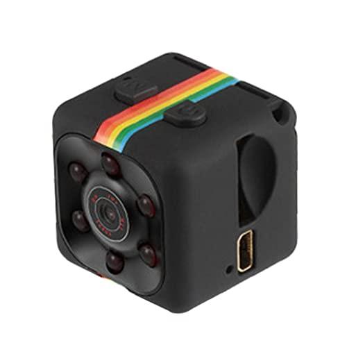 Ohomr Cámara de Alta definición 1080p Noche del Sensor de Movimiento Visión Sq11 Mini videocámara DVR Micro Camara Sport Dv Video Recorder Negro
