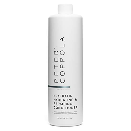 Peter Coppola Hydrating & Repairing Conditioner 24 oz. - Repairs Damaged Hair - Strong Healthy Hair - Hydrates and Nourishes - Keratin Infused Conditioner