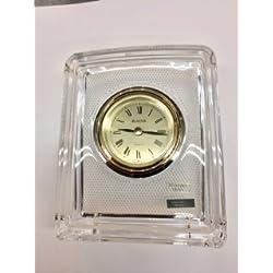 Bulova Hoya Crystal Tabletop Clock …