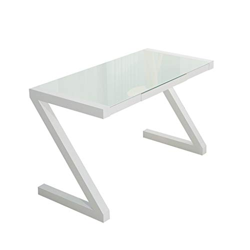 WH-Tische Computer-Schreibtisch Aus Gehärtetem Glas Kann Auf Die Tastatur Gestellt Werden. Home Desk Einfacher Schreibtisch Schreibtisch Home Dining Table 100 / 120cm A++ (Size : 100x50cm)