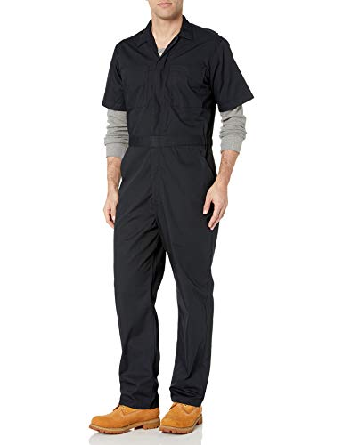 Amazon Essentials Stain & Wrinkle-Resistant Short-Sleeve Coverall Hombre