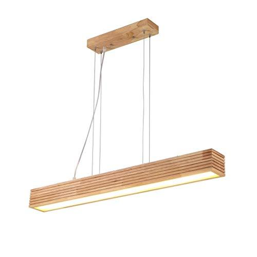 HTL Colgante Luz de Lámpara de Techo Lámpara de Techo Decoración de la Sala de Estar Mesa de Comedor Estudio de la Mesa de Trabajo Fábrica Led Simple Solid Wood Acrílico Indoor Iluminación