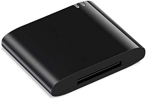 30 poliger Bluetooth Audio Adapter,für Bose Sounddock und andere Musik-Dockingstationen,für iPhone, iPod,iPad -schwarz