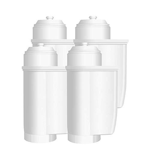 VAIYNWOM Wasserfilter für Siemens EQ Serie, Kaffeevollautomat Wasserfilter Kartuschen Ersatz für Brita Intenza TZ70003, TCZ7003, TCZ7033 und andere Kaffeemaschine (4er)