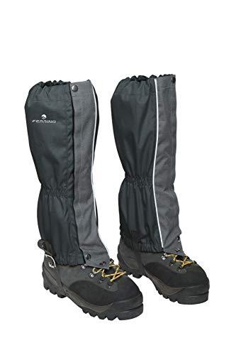 Ferrino 77310HCC.1SIZ Zermatt Gaiters Black (Set), Adultes Unisexe, Noir, Taille Unique