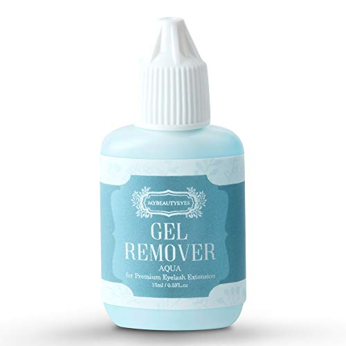Gel Entferner für Wimpernverlängerungen/Entferner Schnell und einfach entfernt Wimpernverlängerung/Schnell Auflösung Zeit /15 ml (Aqua)