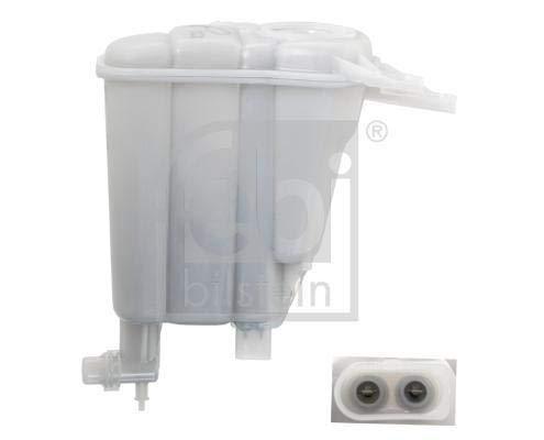 febi bilstein 103420 Depósito de compensación del radiador con sensor y placa de protección contra el calor