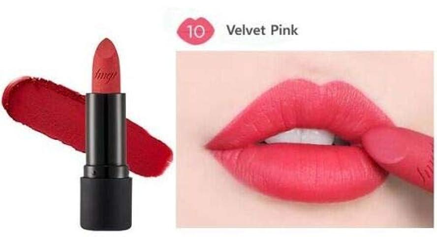 男会うメアリアンジョーンズ[ザ?フェイスショップ] THE FACE SHOP [ルージュ トゥルー マット 3.6g] Rouge True Matte 3.6g [海外直送品] (#10. Velvet Pink)