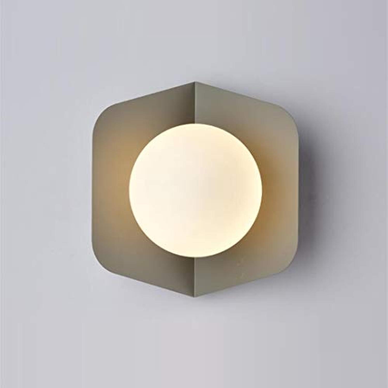 Deckenleuchte Nordic Einfache Graue Wandleuchte Led Süigkeiten Schlafzimmer Nachtwandleuchte Moderne Kreative Studie Gang Lichter