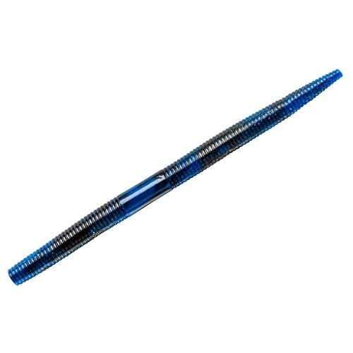 Yum Lures YDG578 Dinger Fishing Bait, Black Blue Swirl, 5'