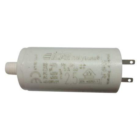 3 Kondensatoren 2,5 μF für Somfy Rollladen, Kabelschuhe 28 mm