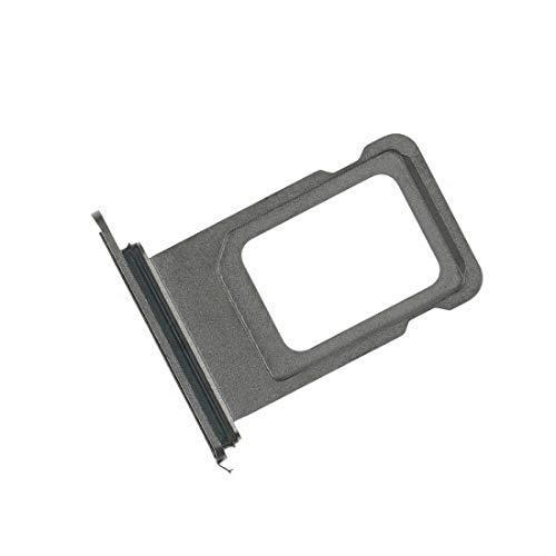 NG-Mobile SIM Tray Karten Halter für Apple iPhone XS Max Dual SIM Silber