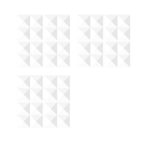 perfk Papel Pintado Interior Del Panel de La Teja de Mosaico Del Modelo Del Ladrillo Del Panel de Pared de 12 Paneles