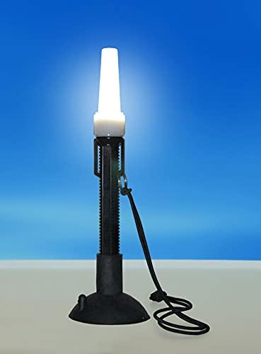 Kayalu WaterTorch 360° Kayak Light   Boat Work Light   Handheld Torch   Suction Base   Portable Bright White LED