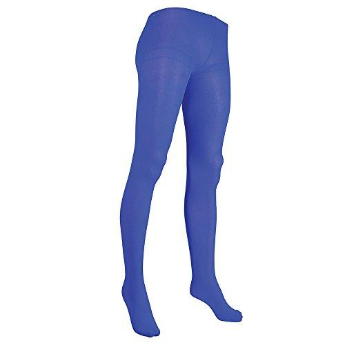 Bristol Novelty BA2806 panty's, blauw, dames, eenheidsmaat