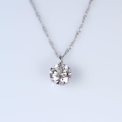 【KASHIMA】CGL鑑定書付き・プラチナ900・Dカラー・エクセレントカット・0.5ct・ダイヤ・ペンダント・ネックレス