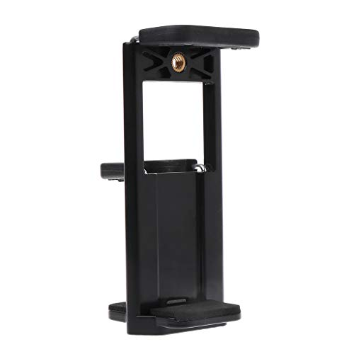 LGQing Tripod Mount Clamp 1/4'' Thread Stand Tablet Phone Holder Bracket Adjustable Extendable