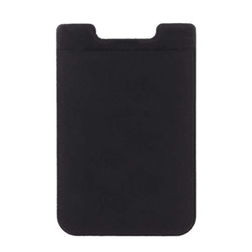 Elastische telefoon portemonnee RFID Credit ID kaarthouder zelfklevende Pocket Sticker Lycra