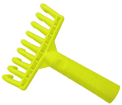 Riegolux 999375 Rastrello Raccogli Olive 9 Denti Plastica