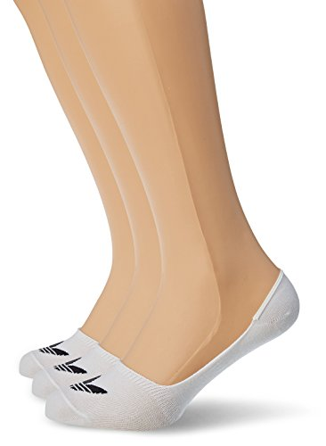 adidas NO Show 3P Socks, White/Black, 35-38