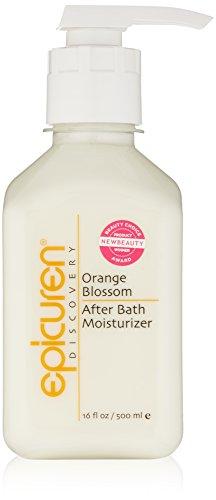 Epicuren Discovery After Bath Body Moisturizer, Orange Blossom, 16 Fl Oz