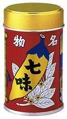 八幡屋礒五郎の七味唐辛子セット(14g 1缶 + 18g 2袋セット)