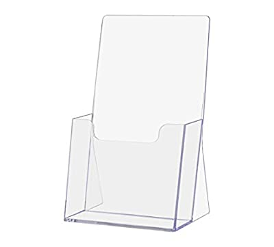 Marketing Holders Tiered Brochure Holder Pamphlet Menu Maps Organizer Display from Marketing Holders