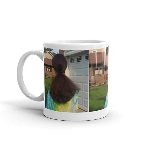 Lsjuee quien es ella ?. Las tazas de 11 onzas son el regalo perfecto para todos. Tazas de cerámica brillantes de 11 onzas, regalo para amantes del café