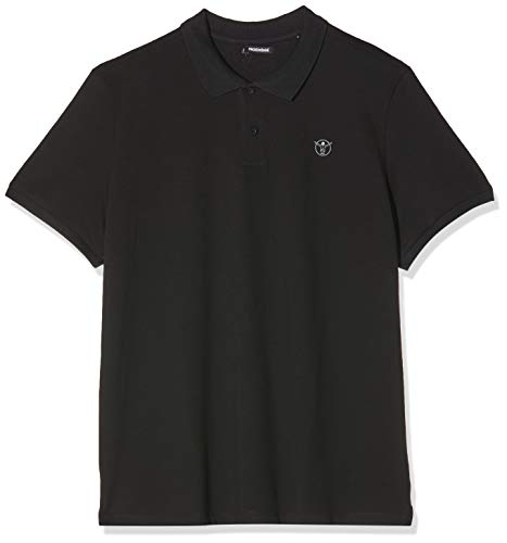 Chiemsee Herren Poloshirt Men Shirts & Blusen, Deep Black, L