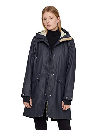 Tretorn W Erna 2.0 Raincoat Blau, Damen Regenjacke, Größe S - Farbe Dark Navy