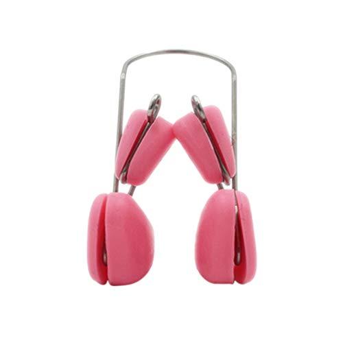 Mifive Soft Magic Silicone Nez Bridge Reshaper Clips Nose Up Réducteur Clip Beauté Nez Redressement Correcteur Masseur Visage Outil De Mise En Forme Rose