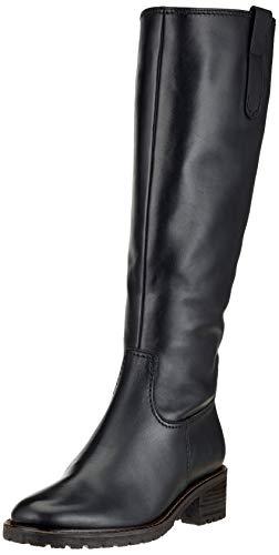 Gabor Shoes Damen Comfort Basic Hohe Stiefel, Schwarz (Schwarz (Mel.) 57), 39 EU
