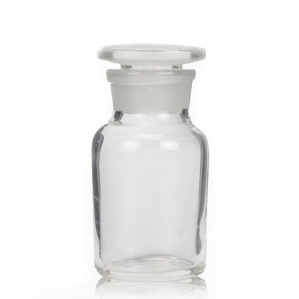 Lab Glass Fixed price for sale Mesa Mall Reagent Bottle Wide Frosted Ground with Mouth