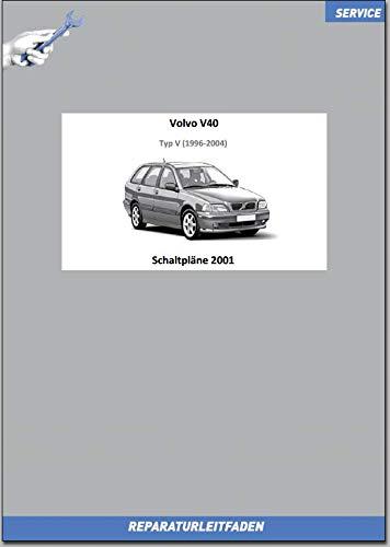 Volvo V40 (2001) Werkstatthandbuch Schaltpläne (gedrucktes Buch)