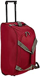 Aristocrat Polyester 53 cms Red Travel Duffle (Rookie),Vip Industries Ltd,Rookie