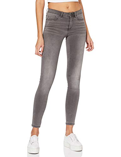 ONLY NOS Damen Skinny Onlroyal Reg SK Dnm Jeans BJ312 Noos, Grau (Dark Grey Denim), L/L32